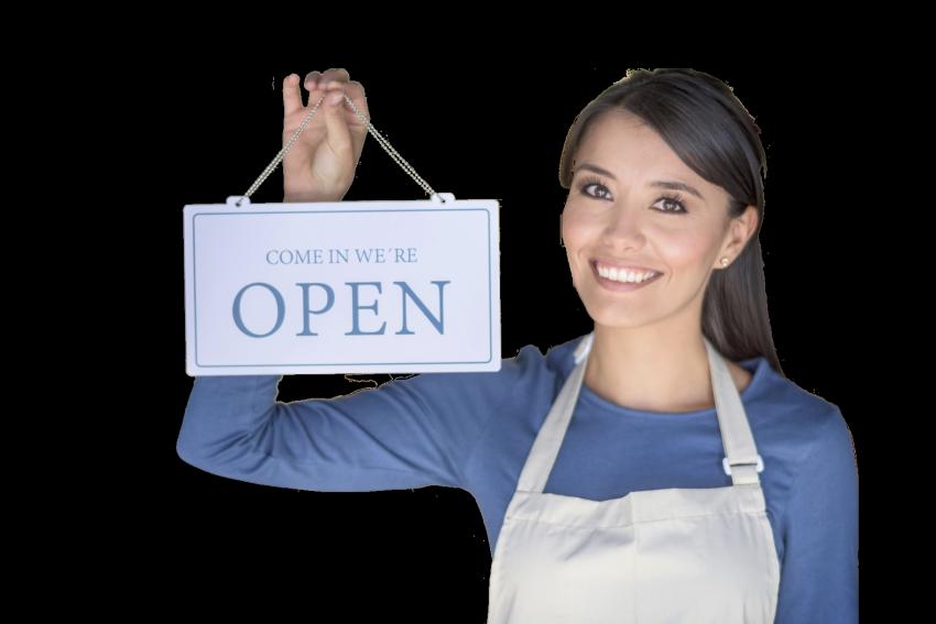 E-commerce B2B cliente negozio aperto